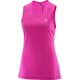Salomon W's Trail Runner Sleeveless Tee rose violet